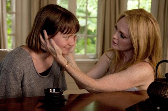 Mia Wasikowska y Julianne Moore en 'Maps to the stars'