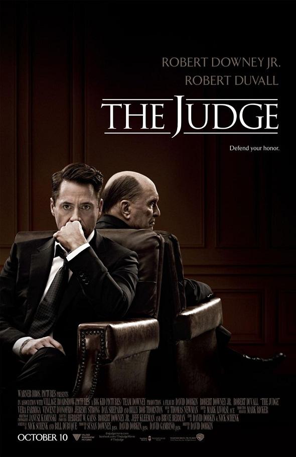 Póster de 'The judge'