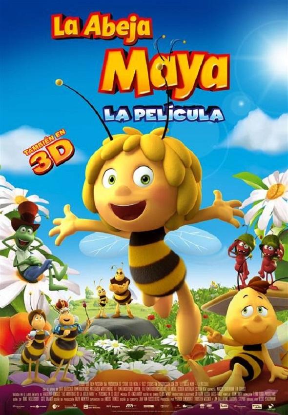 La Abeja Maya póster de la nueva película en 3D