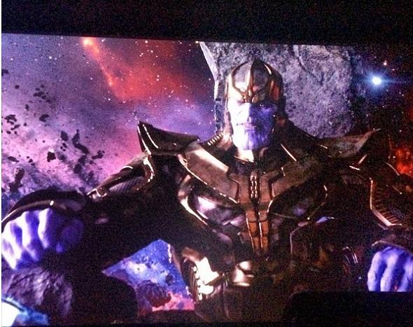 Guardianes de la Galaxia Thanos