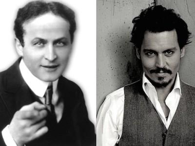 Johnny Depp se convertirá en el mago Houdini