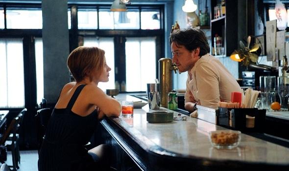 Jessica Chastain y James McAvoy en 'La desaparición de Eleanor Rigby'
