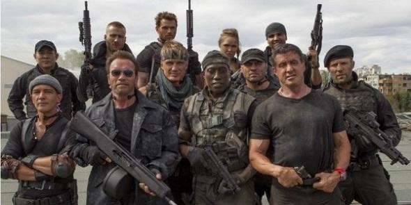Protagonistas de la nueva entrega de 'Los mercenarios 3'