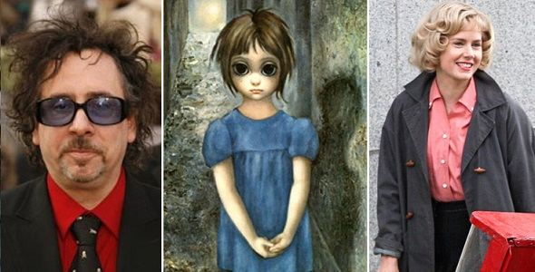 Tim Burton dirige 'Big eyes'