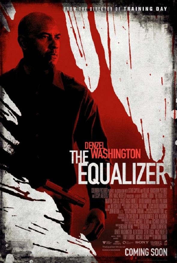 Uno de los nuevos pósteres de 'The equalizer: El protector'