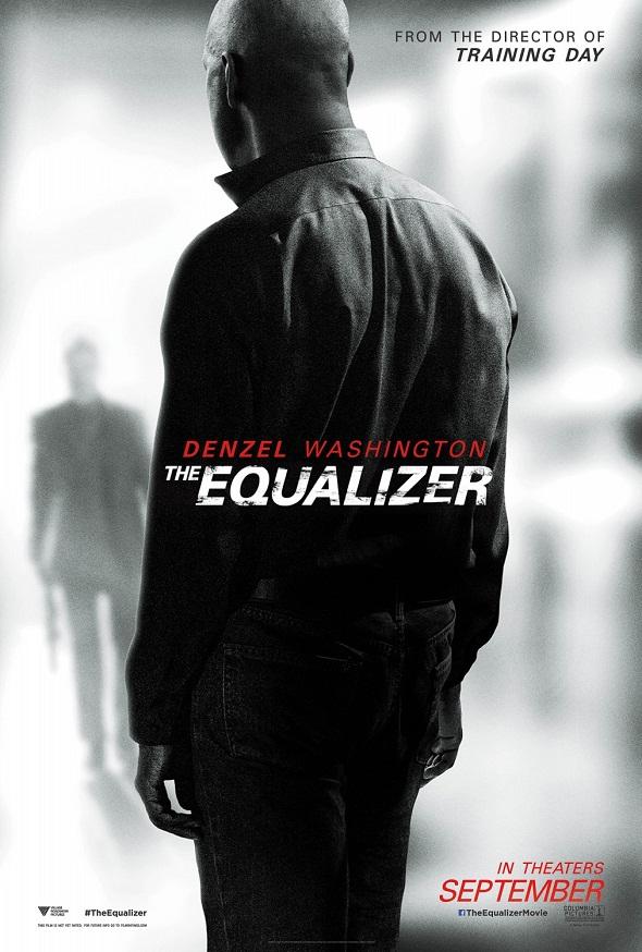 Otro póster más de 'The equalizer'