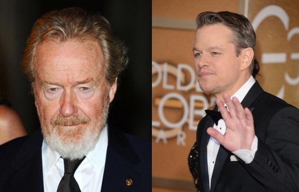 Ridley Scott y Matt Damon se involucran en 'The martian'