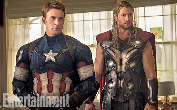 El Capitán América y Thor juntos de nuevo