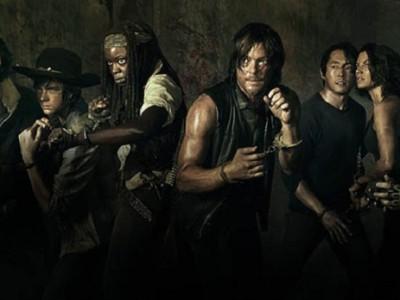 Nuevo banner de personajes para la quinta temporada de 'The walking dead'
