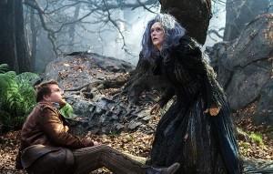 Meryl Streep y James Corden en 'Into the woods'
