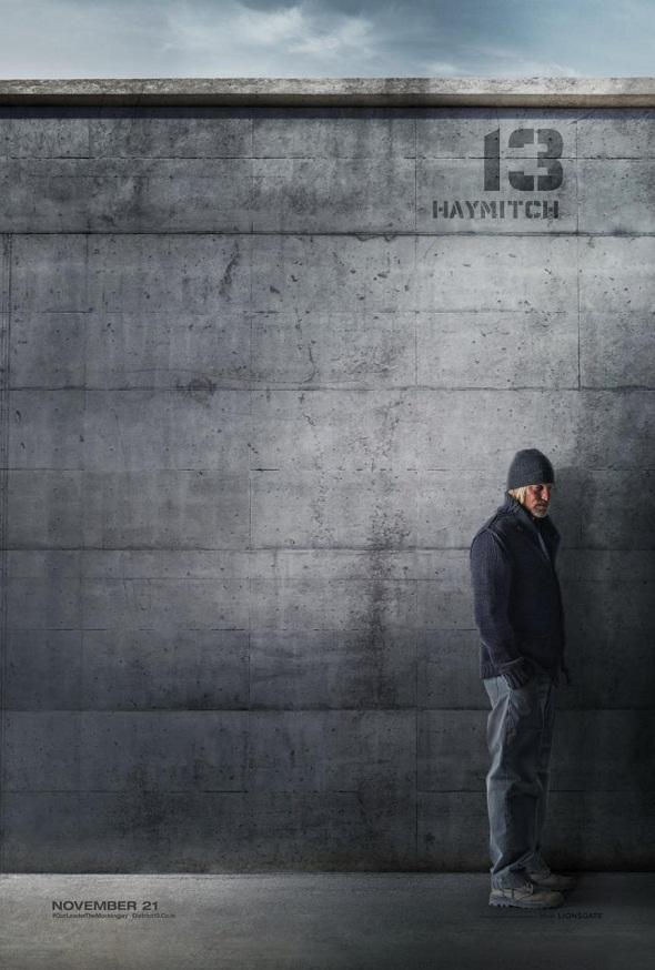 Póster de Woody Harrelson para 'Los juegos del hambre: Sinsajo'