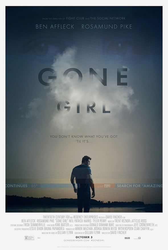 Otro cartel más para 'Perdida (Gone girl)'
