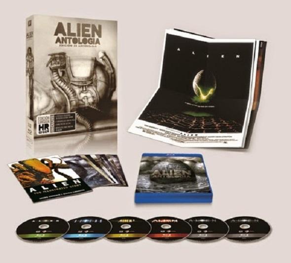 Material exclusivo de la nueva antología de Alien en DVD y BD