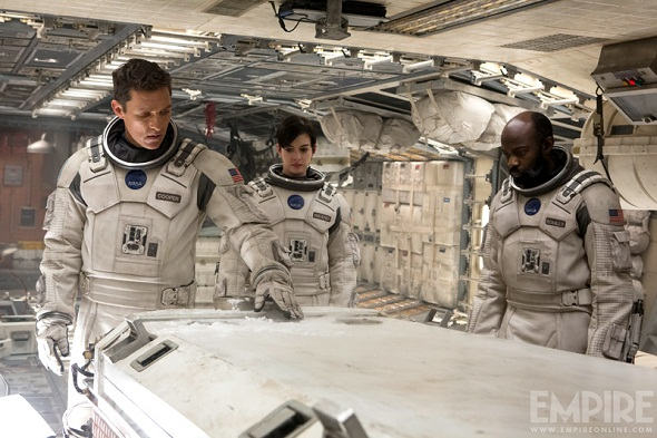 Protagonistas de 'Interstellar'