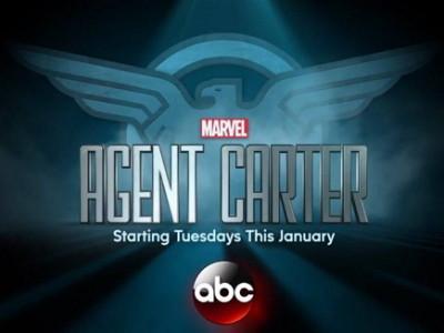 Logo de 'Agente Carter', la nueva serie de Marvel