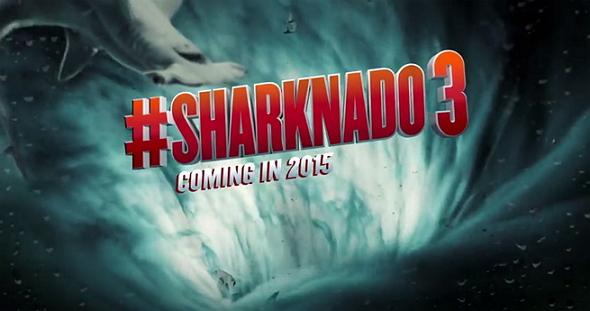 Imagen promocional de Sharknado 3