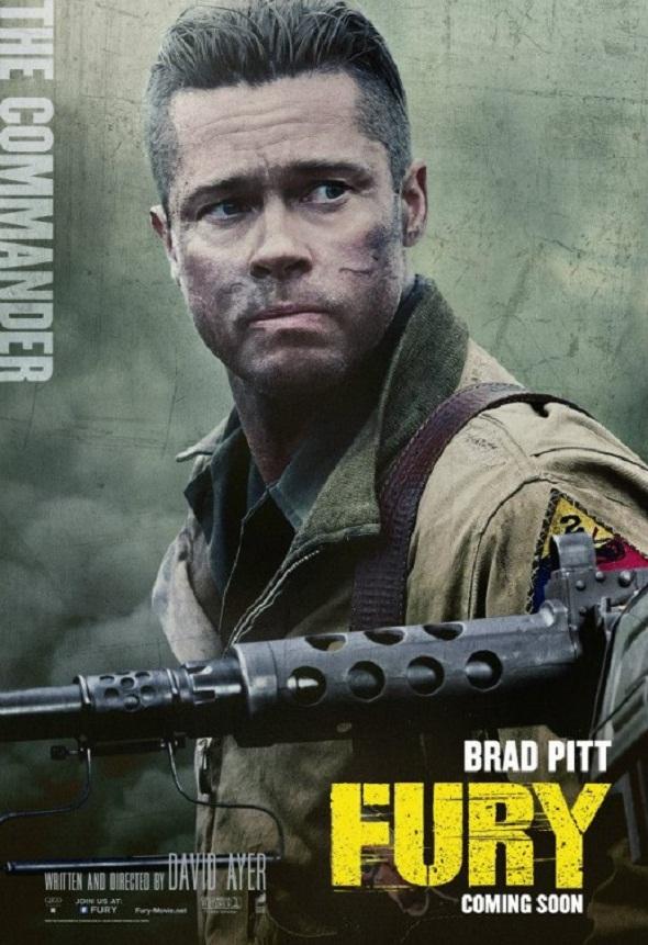 Brad Pitt en su nuevo póster
