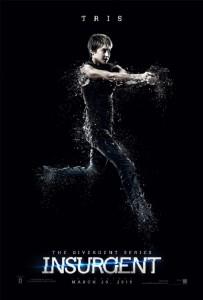 Shailene Woodley protagoniza su propio póster de 'Insurgente'