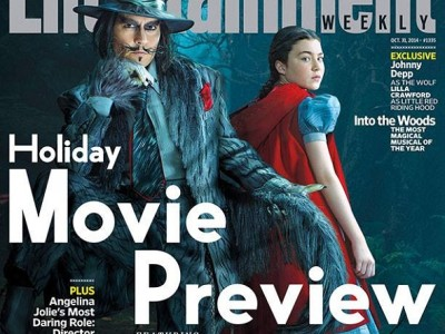 Johnny Depp se convierte en el Lobo de 'Into the woods'