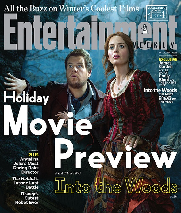 James Corden y Emily Blunt también protagonizan la película