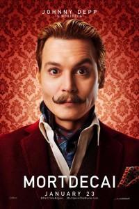 Póster de Johnny Depp para 'Mortdecai'
