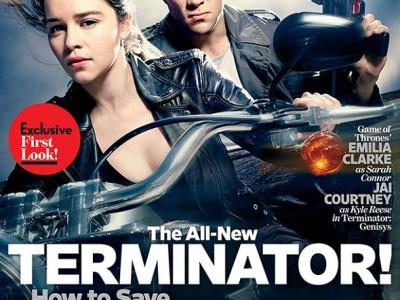 Portada sobre 'Terminator Genisys' con Emilia Clarke y Jai Courtney.