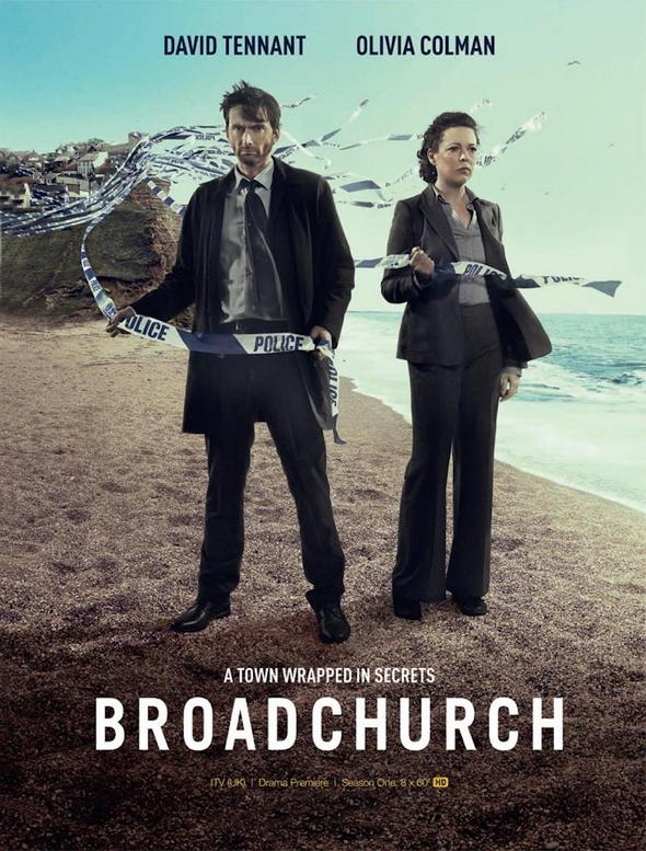 Póster de la Miniserie de la BBC 'Broadchurch'