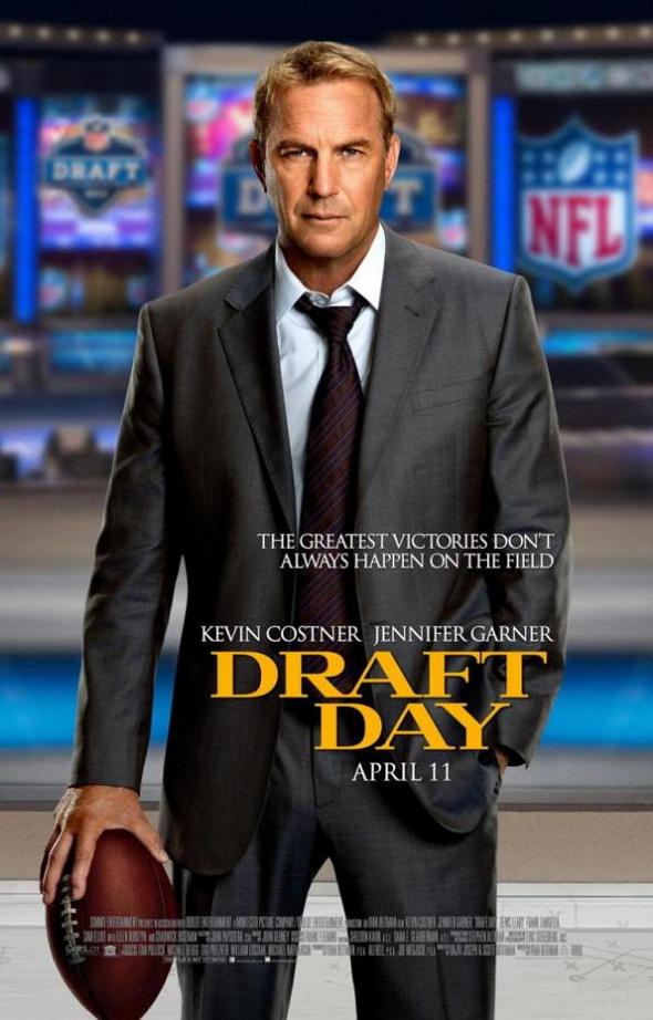 Cartel de la película 'Draft Day', con Kevin Costner