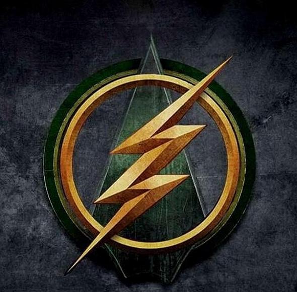Logo del episodio crossover entre 'Arrow' y 'The Flash'