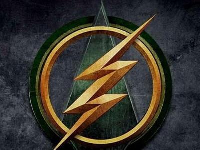 Logo del crossover de las Series The Flash y Arrow