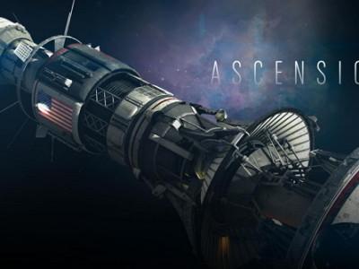 Imagen de la nave Ascension, que pone nombre a la Miniserie de SyFy