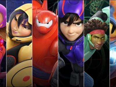Los personajes de '6 Héroes (Big Hero 6)'