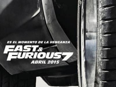 Póster en español de A todo gas 7 (Fast & Furious 7)