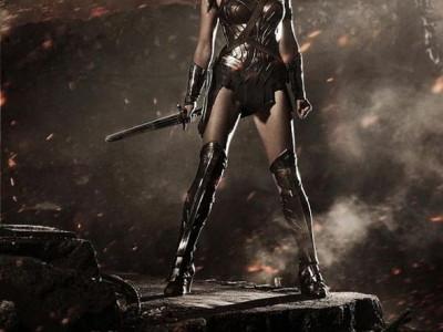 La actriz Gal Gadot con el Uniforme de Wonder Woman