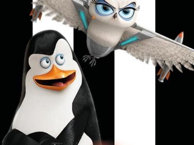 Póster de personajes de Los Pingüinos de Madagascar