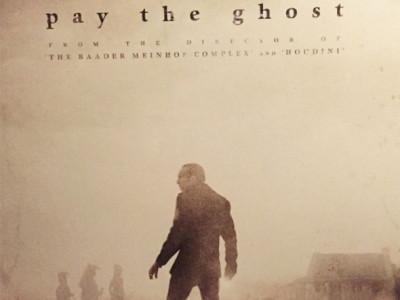 Póster de Pay The Ghost, con Nicolas Cage
