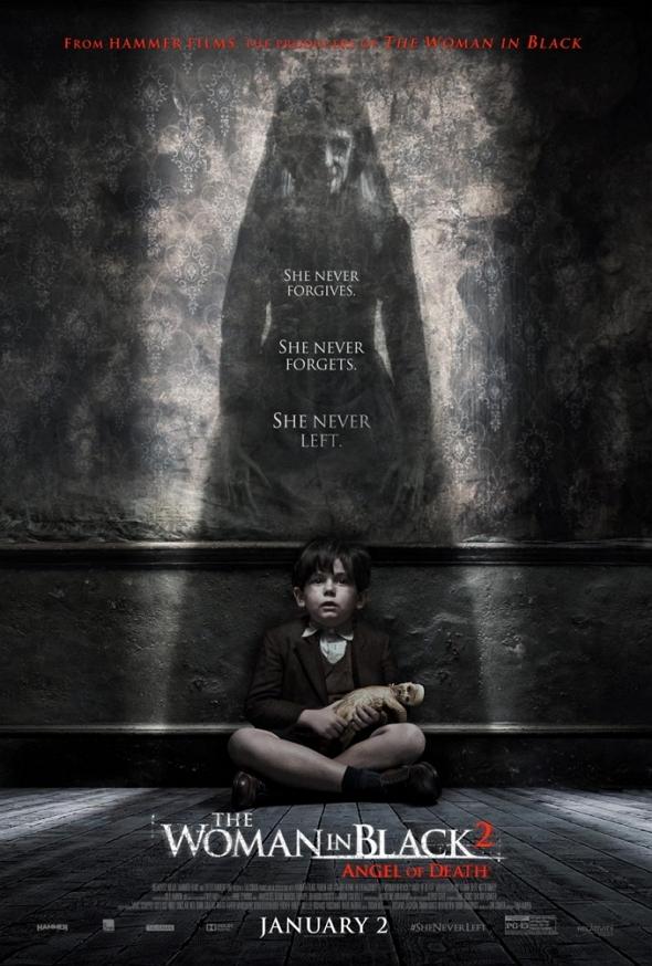 Nuevo póster de 'La mujer de negro: el ángel de la muerte (The Woman in black: Angel of Death)'