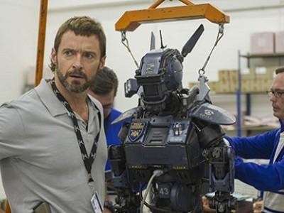 Hugh Jackman es uno de los protagonistas de 'Chappie'