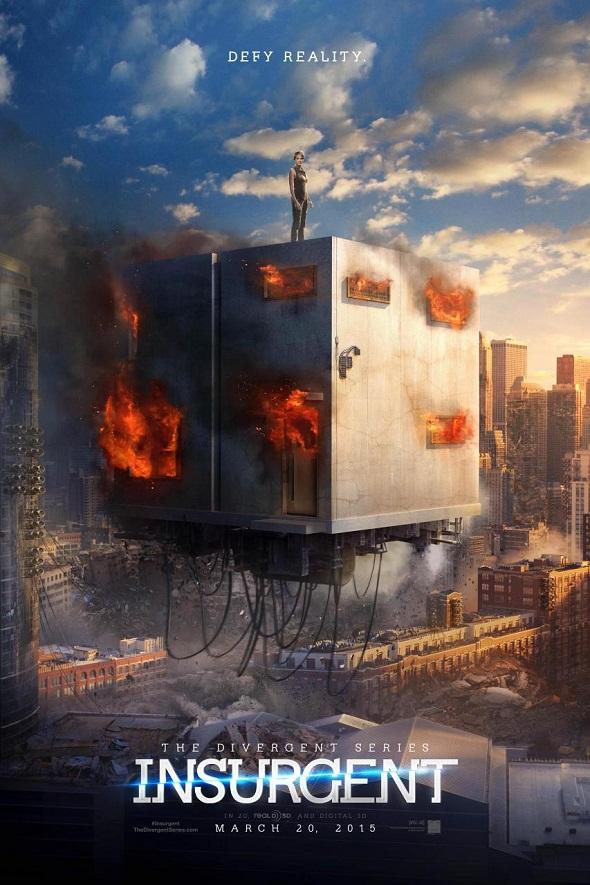 Póster del nuevo capítulo de la saga 'Divergente'