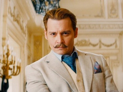 Johnny Depp en 'Mortdecai'