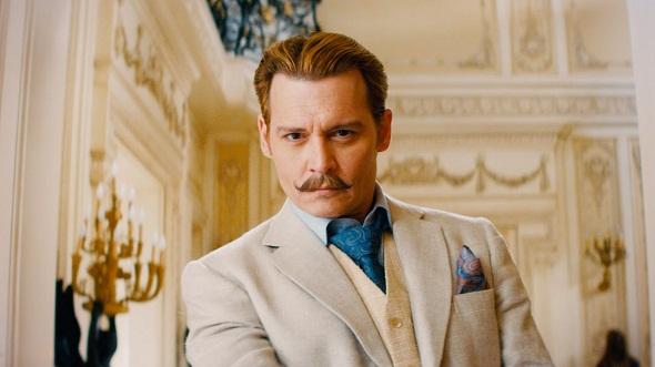 Johnny Depp en 'Mortdecai'