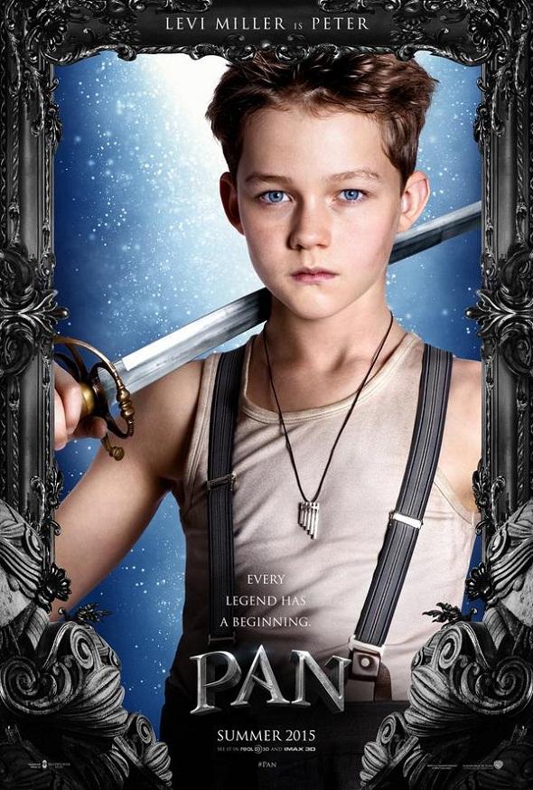 Levi Miller da vida a Peter Pan