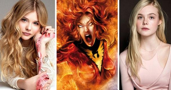 Chloe Moretz y Elle Fanning podrían dar vida a Jean Grey en 'X-Men: Apocalypse'