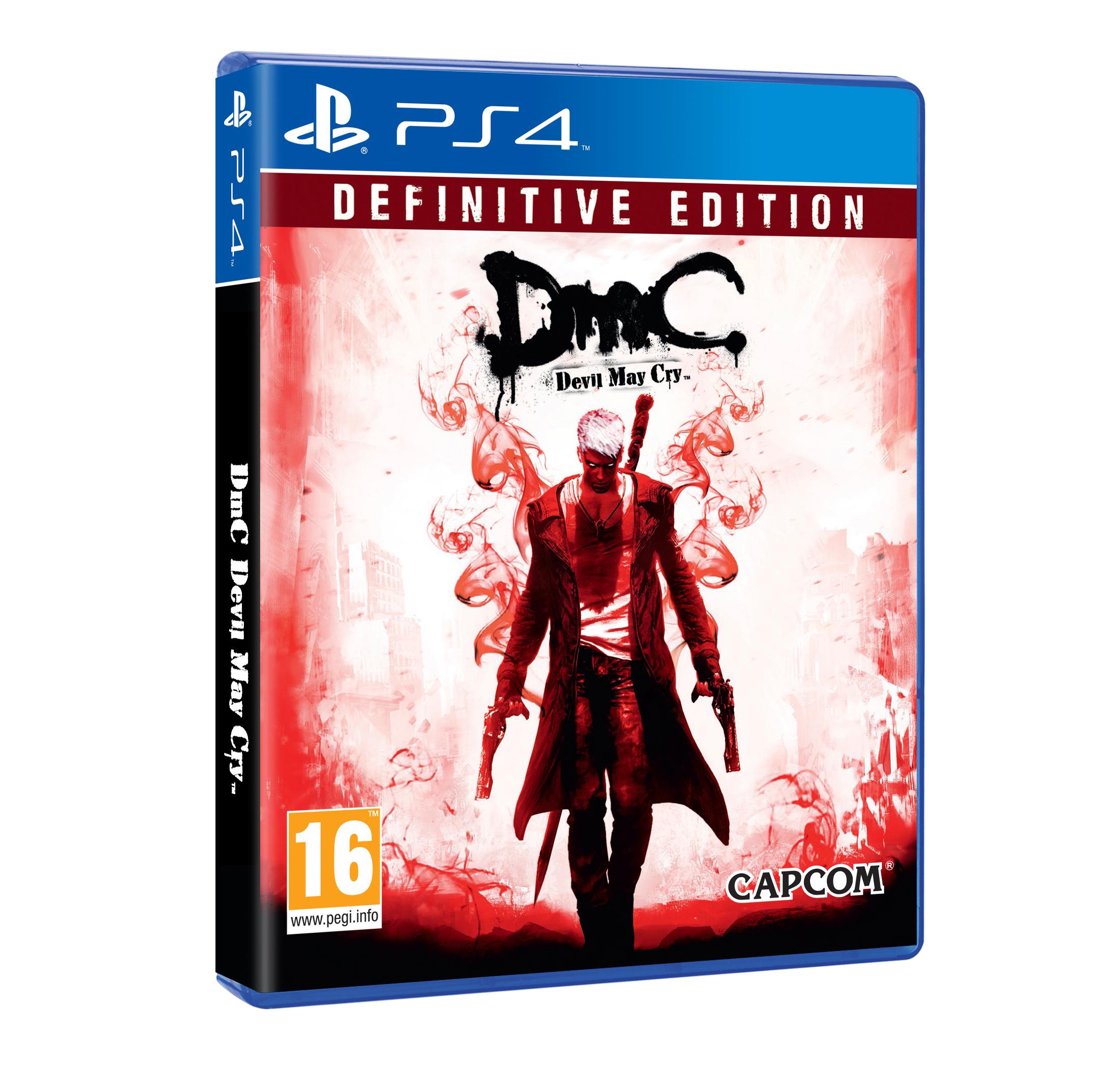Devil May Cry 4 Carátula para PS4