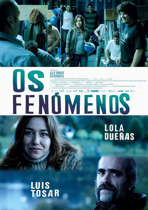 Póster en español de la película Los fenómenos