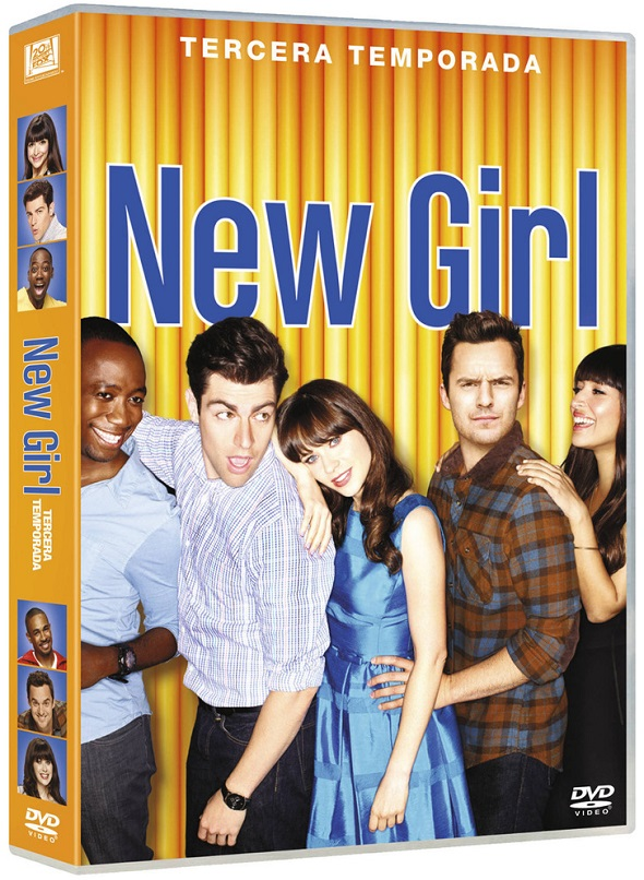 Tercera temporada de 'New Girl' en DVD