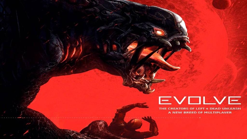 Portada del videojuego Evolve