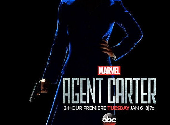 Póster de la serie de ABC Agente Carter (Marvel`s Agent Carter)