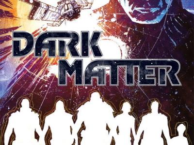 Portada de la novela gráfica Dark Matter