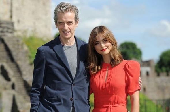 Peter Capaldi y Jenna Coleman